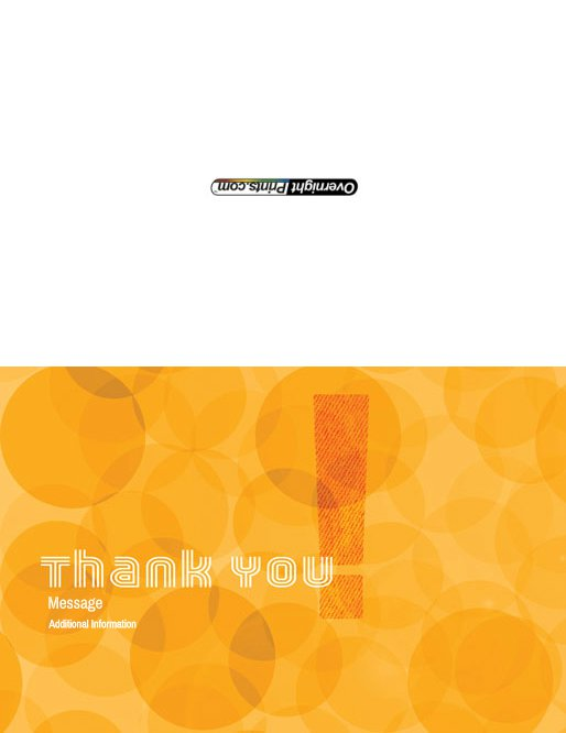Thankyou_9 Greeting Card (55x85)